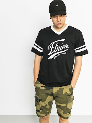 T-shirt Etnies Home Game Baseball (black)