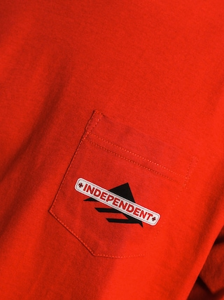 T-shirt Emerica Indy Pocket (cardinal)