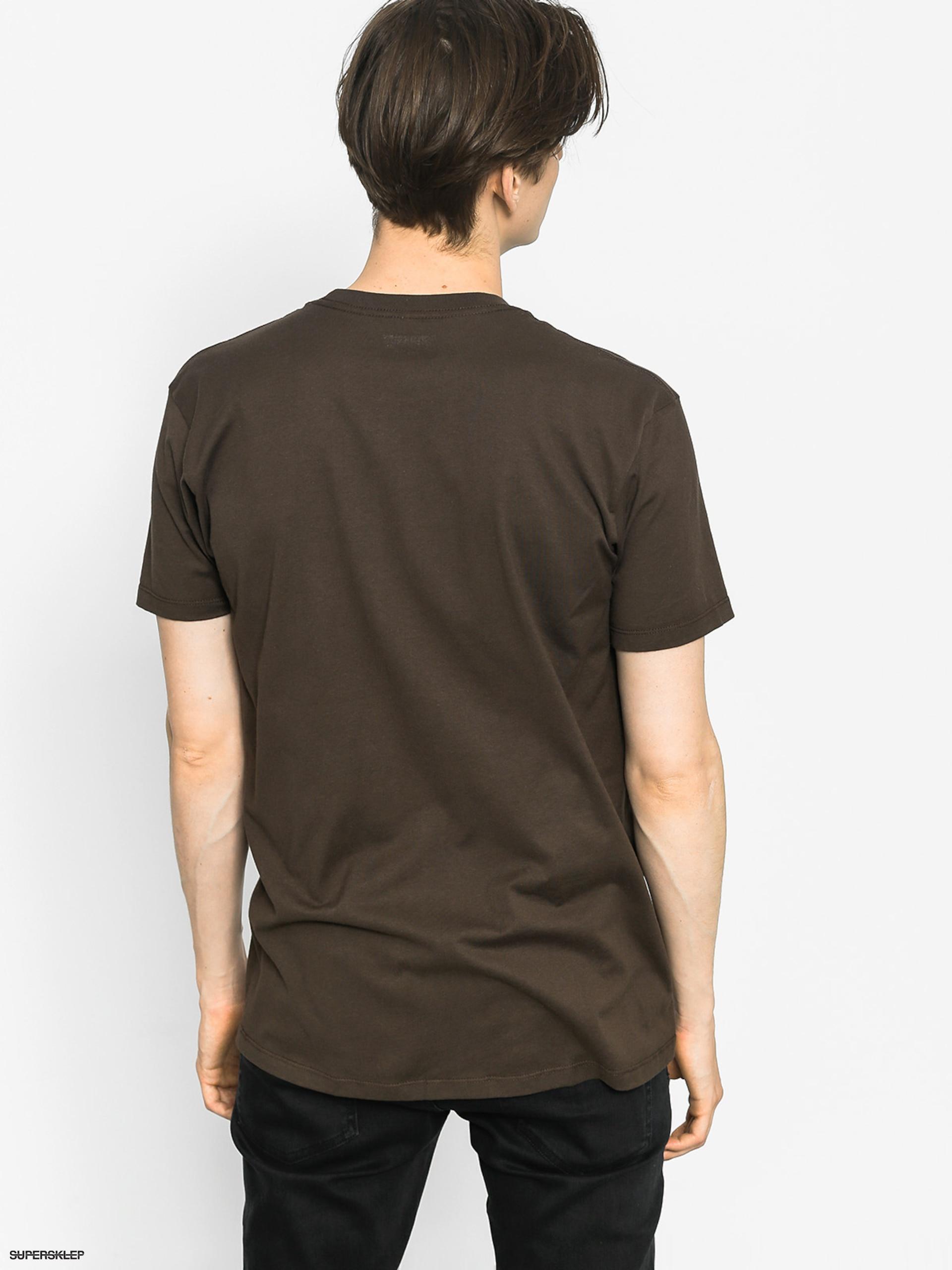 T-shirt Altamont One Liner (dark chocolate)
