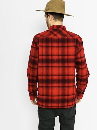 Koszula Brixton Archie Ls (red/burgundy)