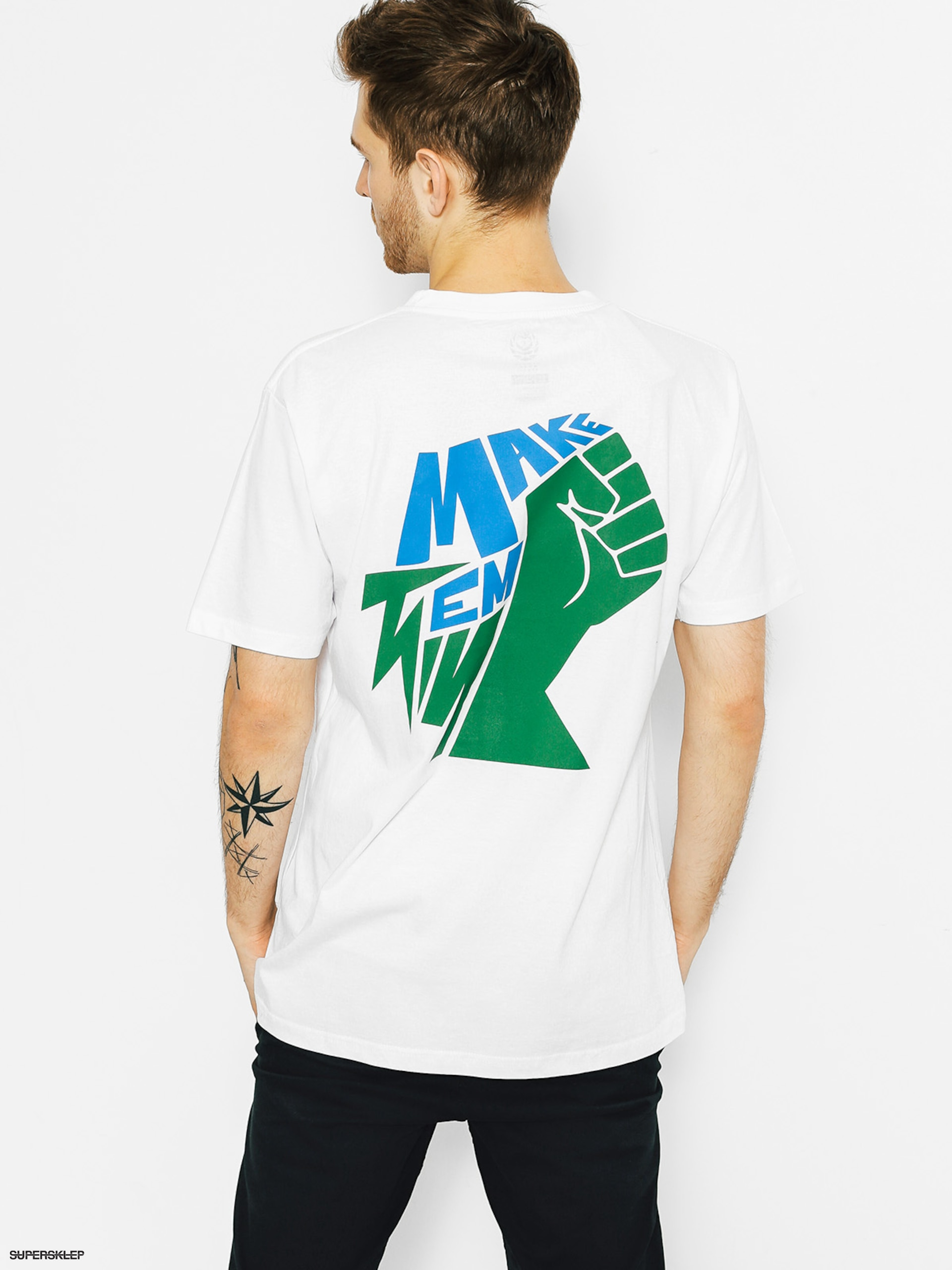 T-shirt Koka Think (white)