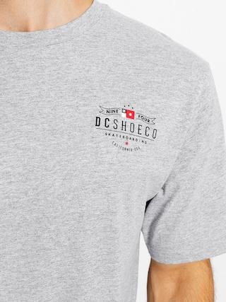 T-shirt DC Nine Four Flag (grey heather)