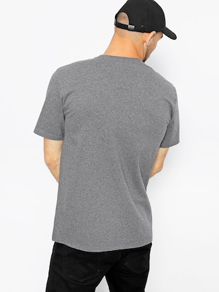 T-shirt Carhartt College Script (dark grey heather/white)