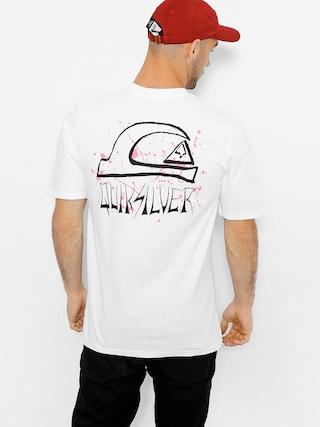 T-shirt Quiksilver Neon Tendenciess (white)