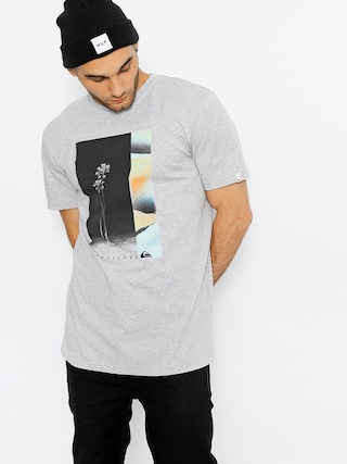 T-shirt Quiksilver Herren Ss Classic (athletic heather)