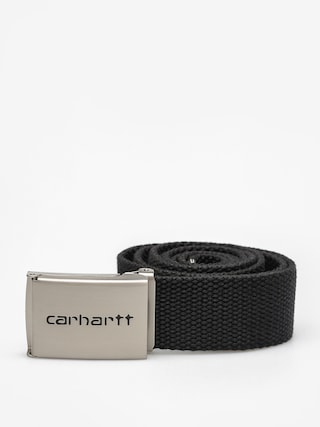 Pasek Carhartt Clip Belt Chrome (black)
