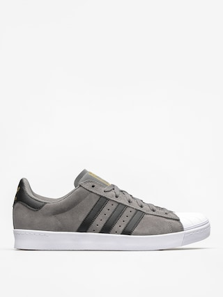 Buty adidas Superstar Vulc Adv (grey four f17/core black/gold met)