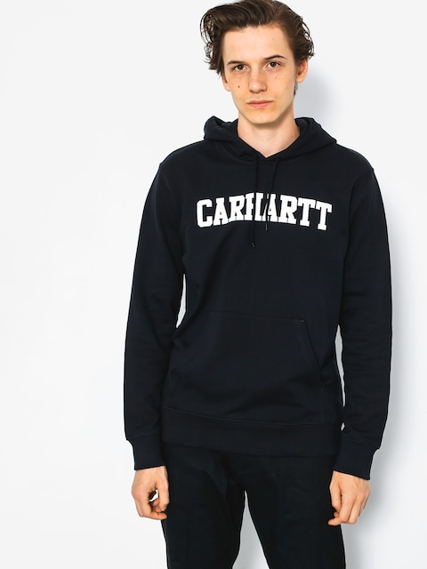 Bluza z kapturem Carhartt College HD (dark navy/white)