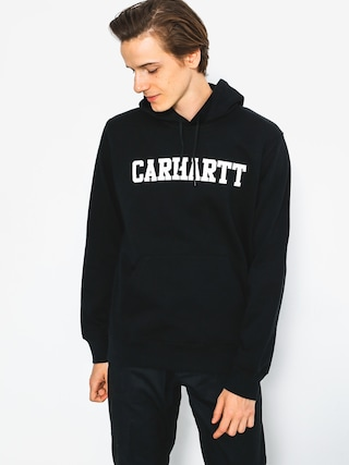 Bluza z kapturem Carhartt College HD (black/white)