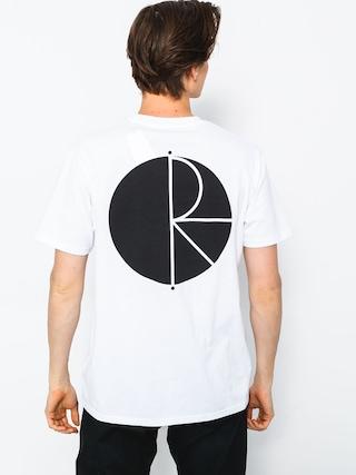 T-shirt Polar Skate Fill Logo (white)