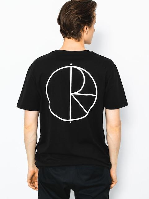 T-shirt Polar Skate Stroke Logo (black)