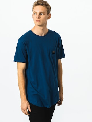 T-shirt Quiksilver Woven Pocket (dark denim)
