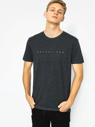 T-shirt Quiksilver Clean Turn (charcoal heather)