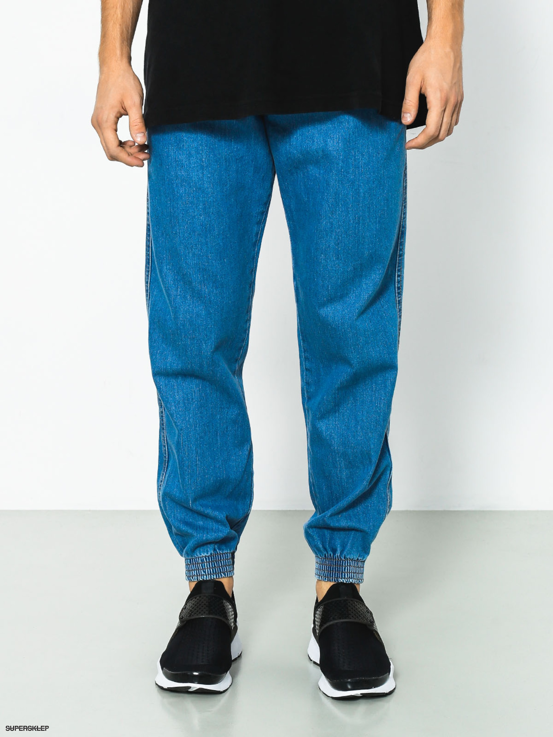 Spodnie Prosto Regular Jogger (medium blue)