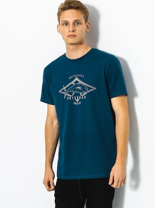 T-shirt Quiksilver High Thon (major blue)