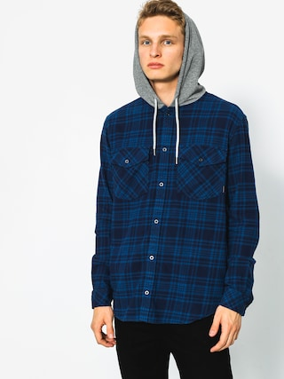 Koszula Quiksilver Snap Up LS (navy snap up)