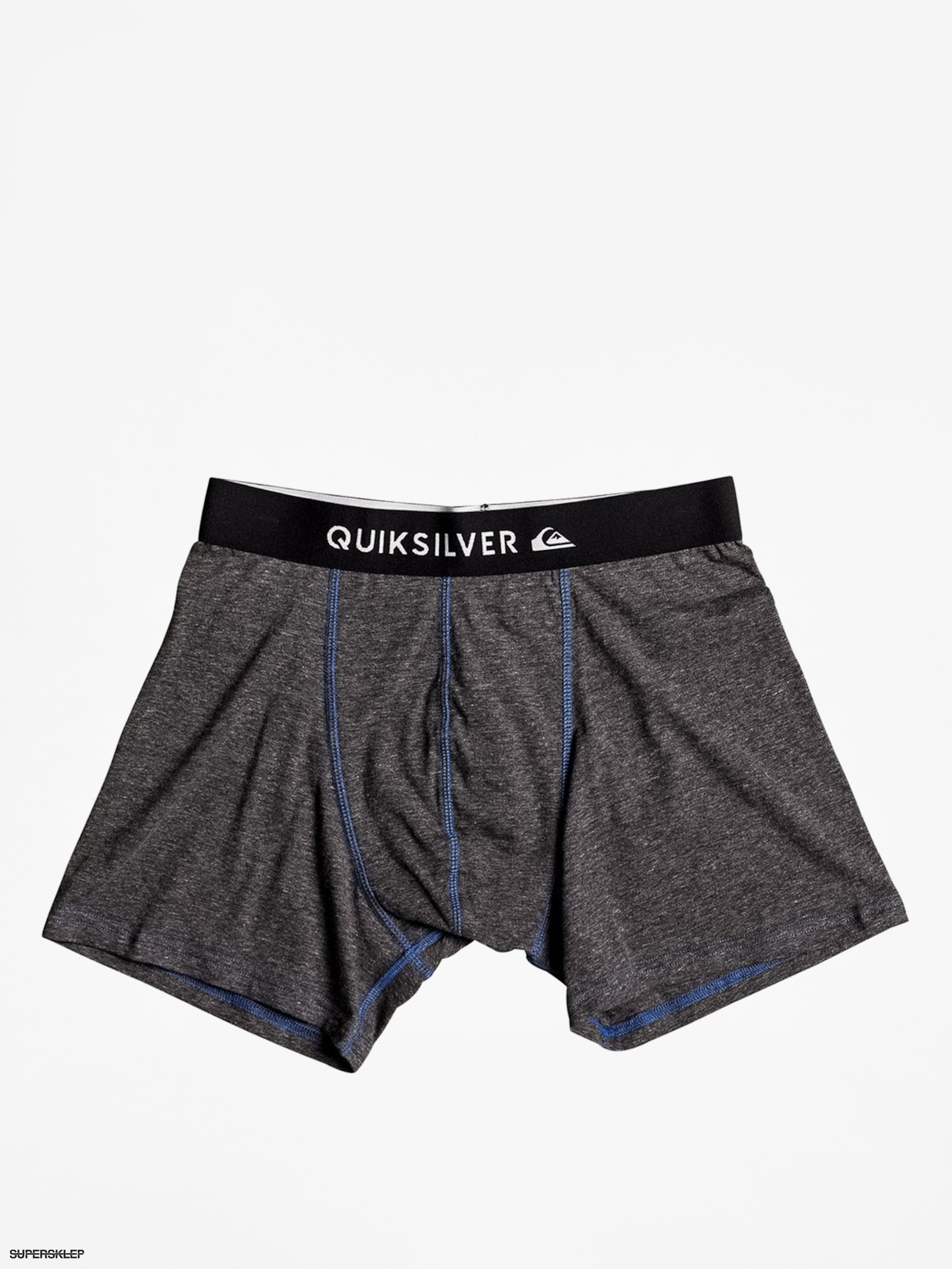 Bokserki Quiksilver Boxer Edition (dark charcoal heather)