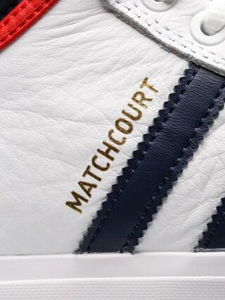 Buty adidas Matchcourt High Rx2 (ftwr white/collegiate navy/scarlet)