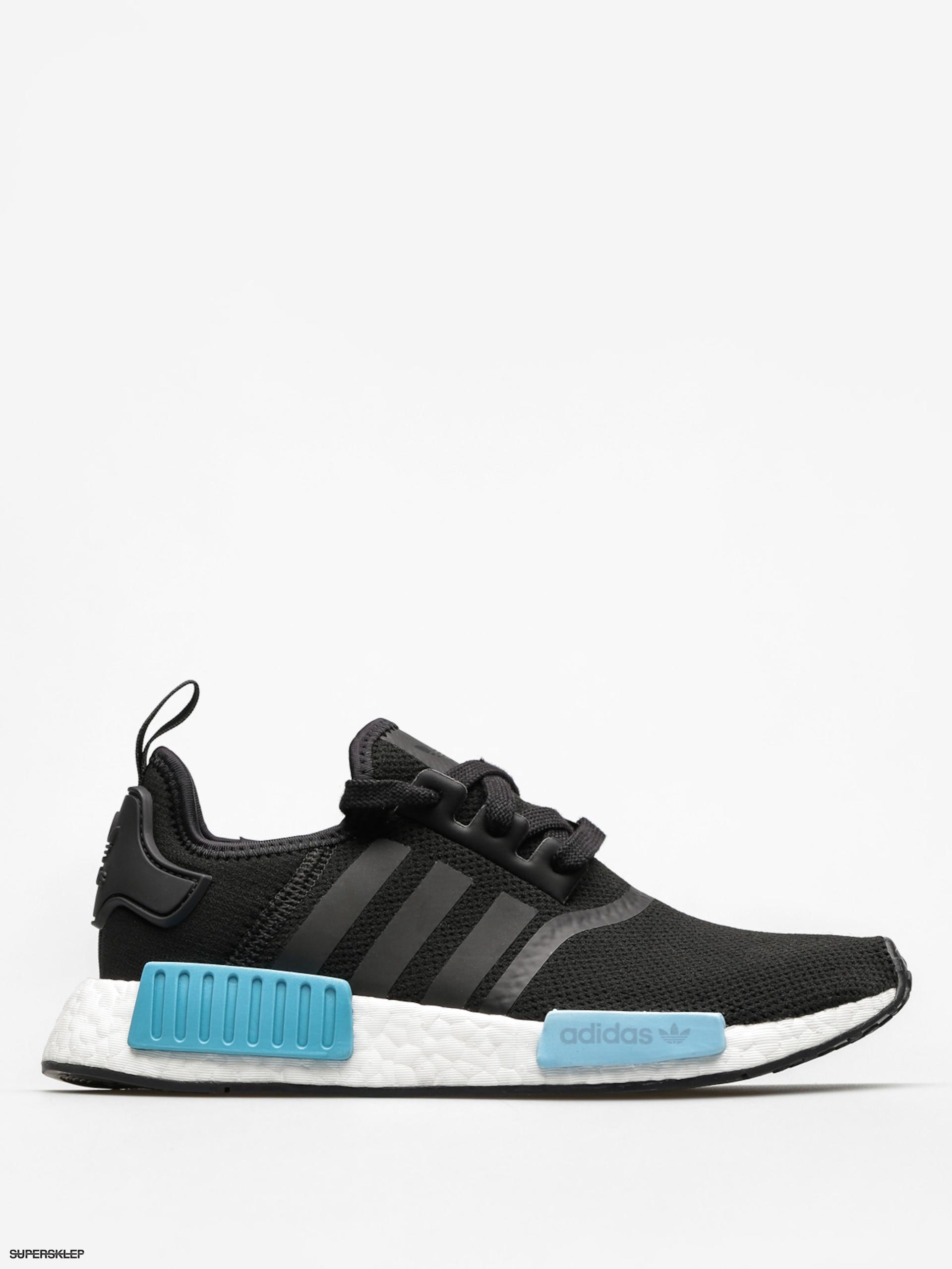 Buty adidas Nmd R1 Wmn (core blackcore blackicey blue f17)