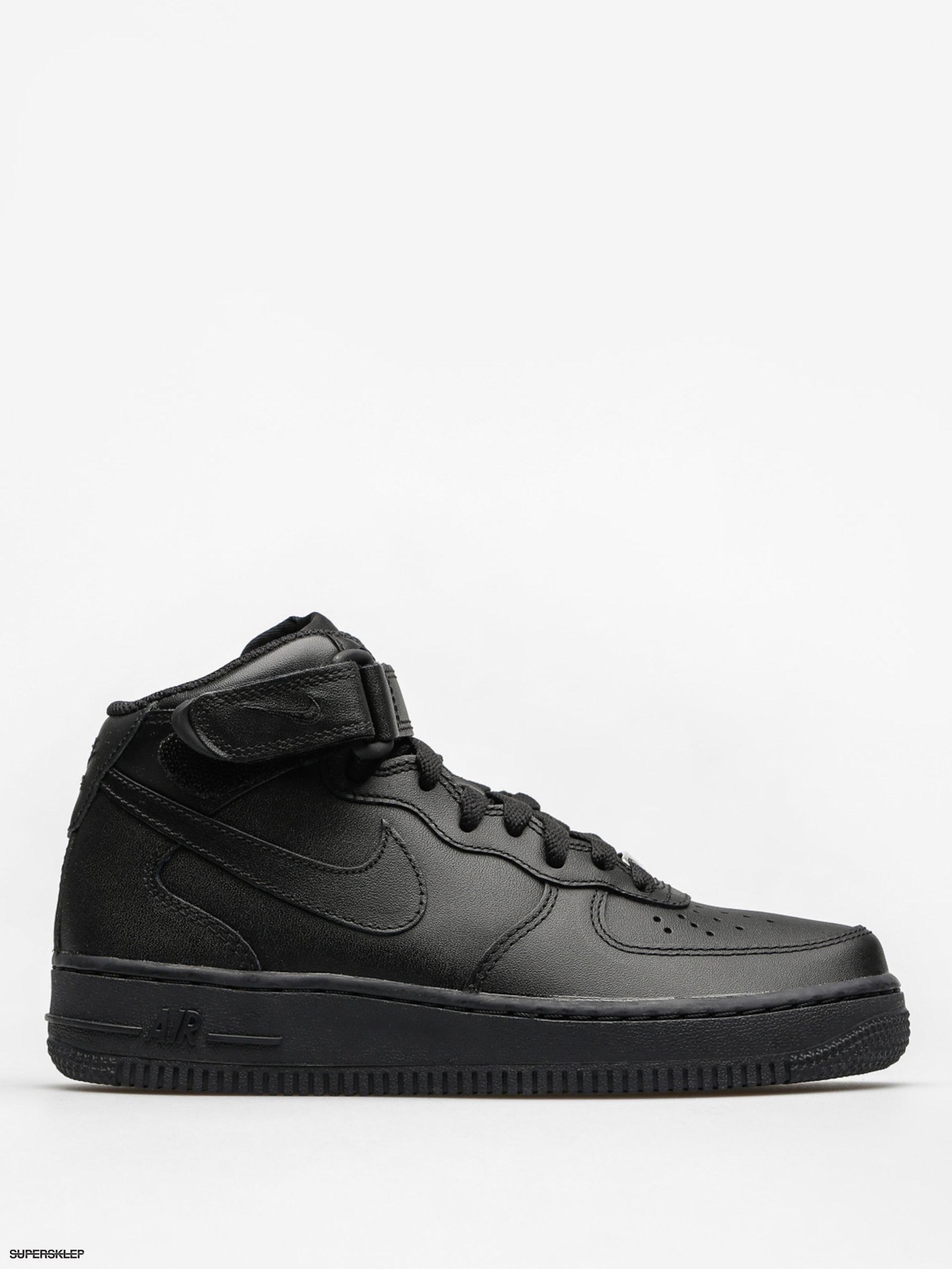 Buty Nike Air Force 1 Mid 07 Le Wmn (black/black)