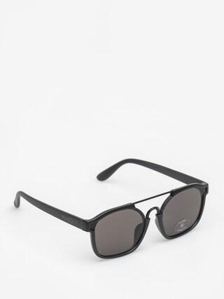 Okulary przeciwsu0142oneczne Majesty Wire (matt black/black pearl lens)