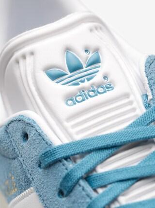 Buty adidas Gazelle (tactile steel f17/ftwr white/gold met)