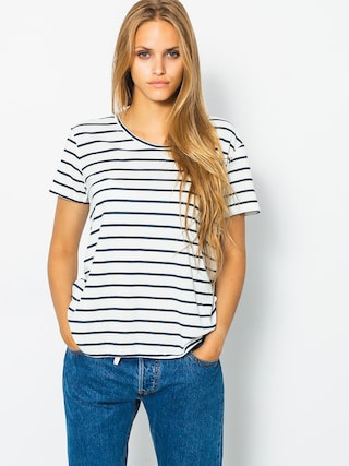 T-shirt Roxy Just Simple Stripe Wmn (marshmallow lexi str)