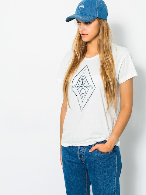 T-shirt Roxy Alex Palm Tribal Wmn (marshmallow)