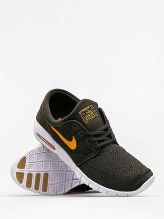 Buty Nike SB Stefan Janoski Max (sequoia/circuit orange gum light brown)