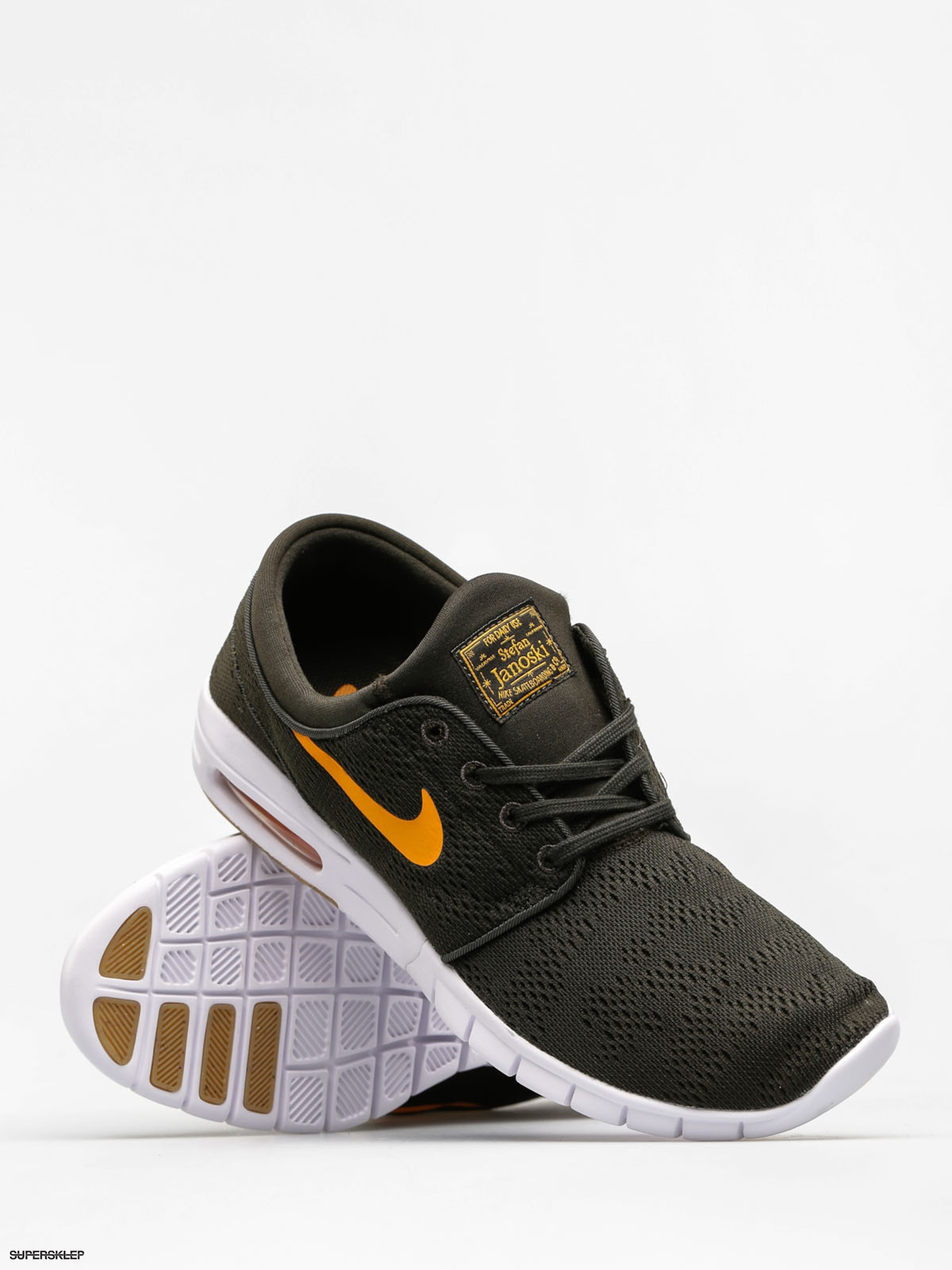 Buty Nike SB Stefan Janoski Max (sequoiacircuit orange gum light brown)