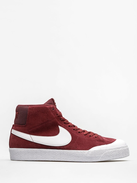 Buty Nike SB Zoom Blazer Mid Xt (dark team red/white gum light brown)