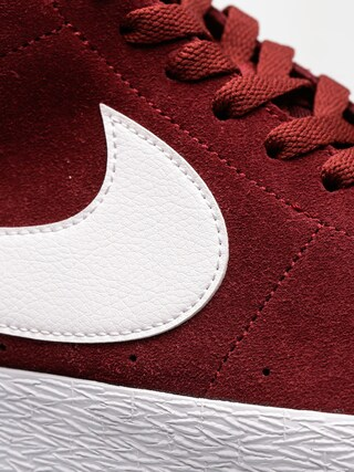 Buty Nike SB Zoom Blazer Mid Xt (dark team red/white gum light brown)