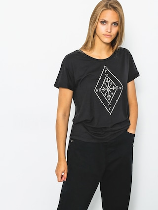 T-shirt Roxy Alex Palm Tribal Wmn (anthracite)