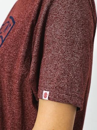 T-shirt Element Bern (oxblood red)