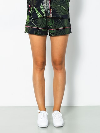 Szorty Yeah Bunny Jungle Wmn (black/green)