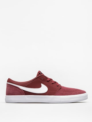 Buty Nike SB Solarsoft Portmore II (dark team red/white black white)