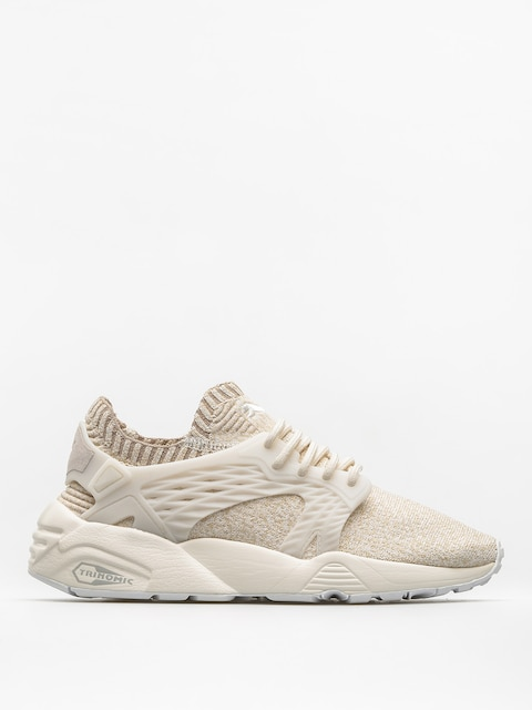 Buty Puma Blaze Cage Evo Knit Wn S Wmn (marshmallow/safari/birch/whisper white)