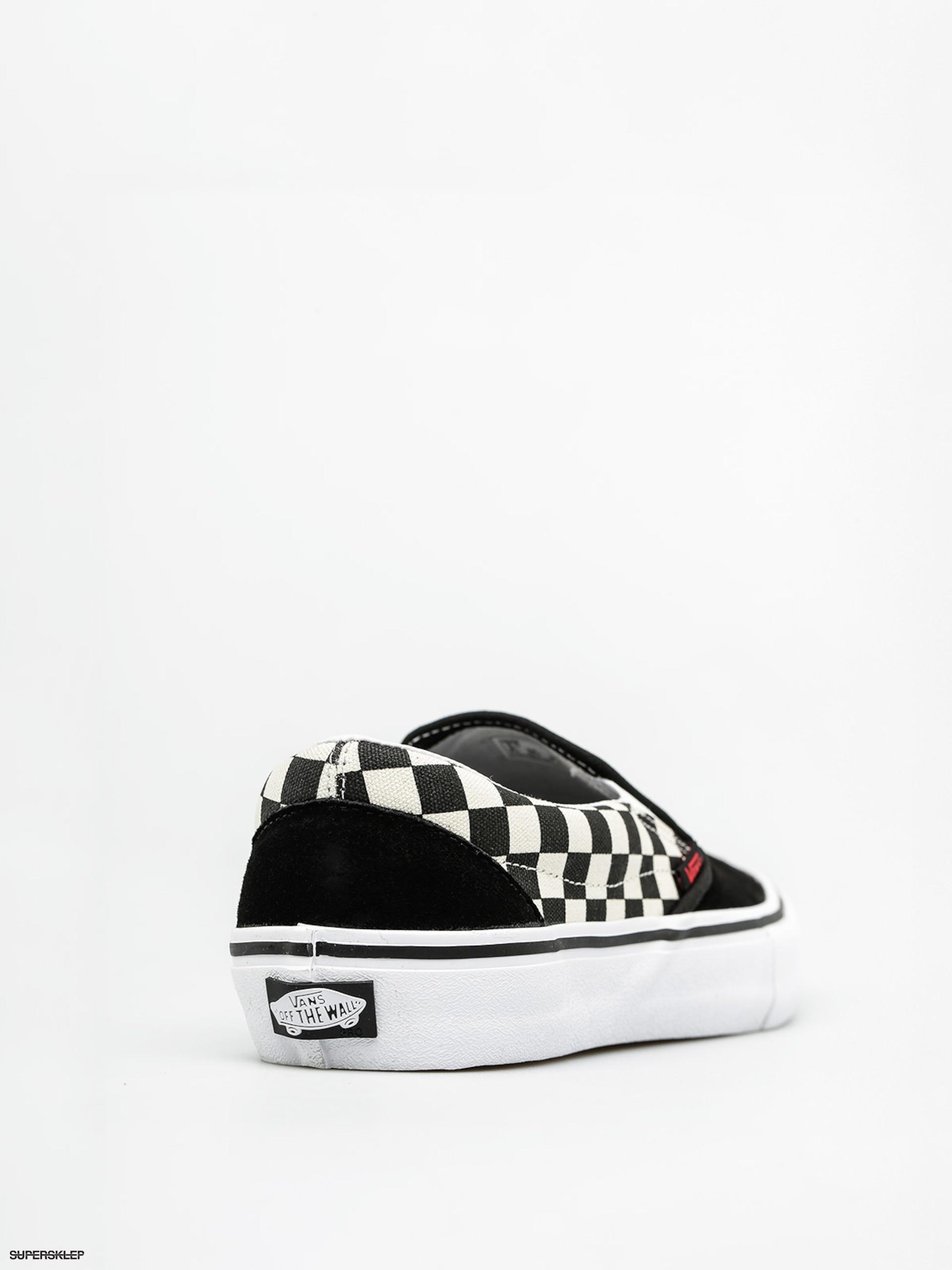 Buty Vans Slip On Pro (thrasher black checkerboard)