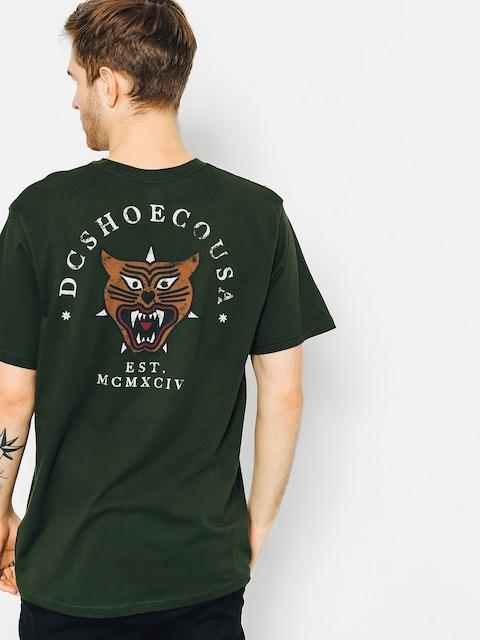 T-shirt DC Barkly Pocket (dark olive)