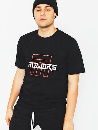 T-shirt Majors Ultra Red (black)