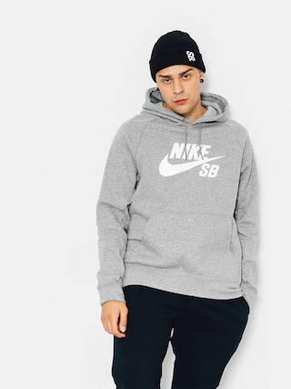 Bluza z kapturem Nike SB Icon HD (grey heather)