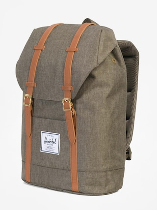 Plecak Herschel Supply Co. Retreat (canteen crosshatch/tan synthetic leather)