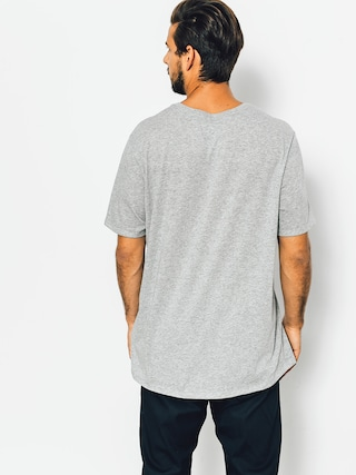 T-shirt Nike SB Logo (dk grey heather/black)