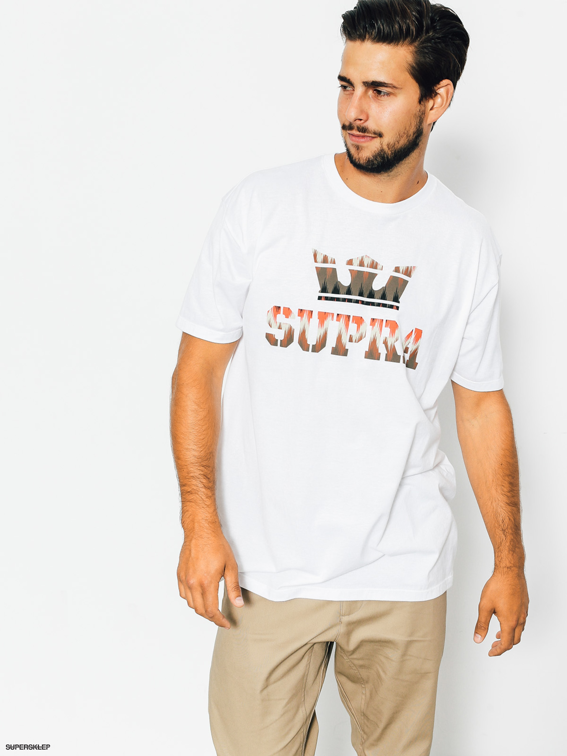 T-shirt Supra Above Reg (white/multi)