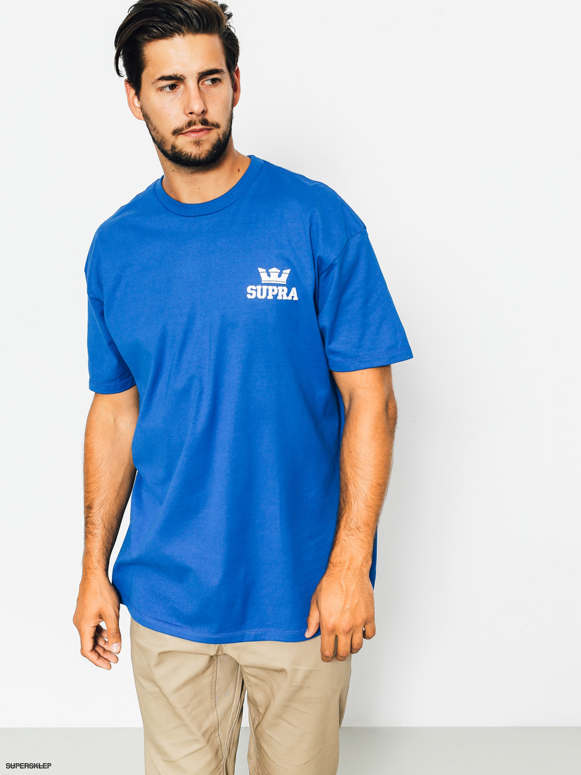 T-shirt Supra Crown Reg (royal)