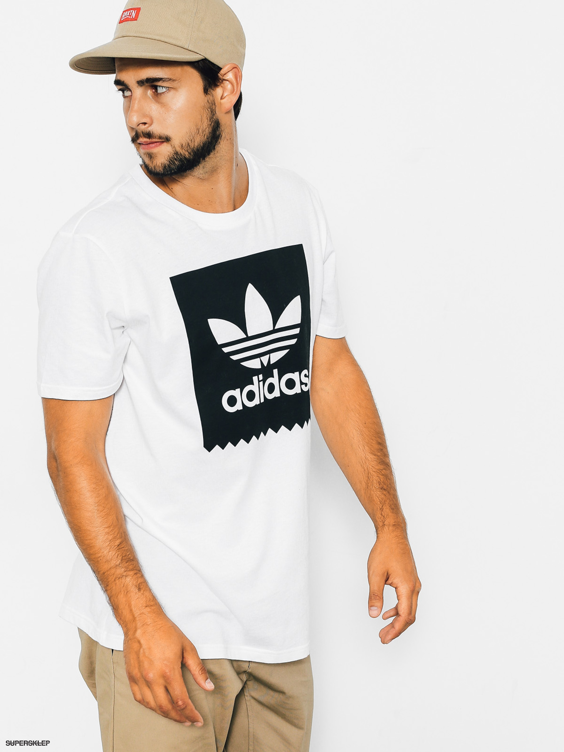 T-shirt adidas Solid Bb (white)
