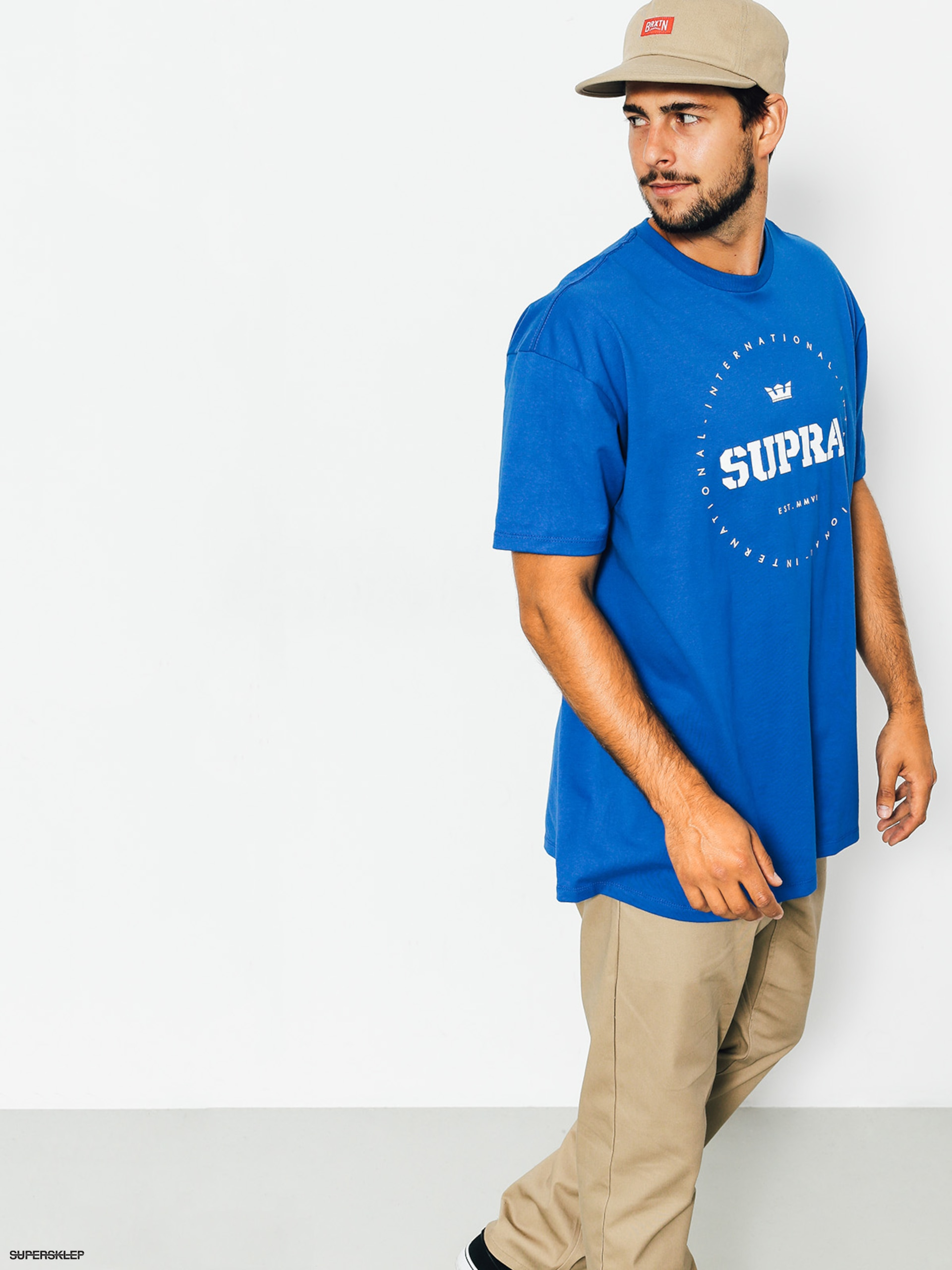 T-shirt Supra Triblock Regular (royal)