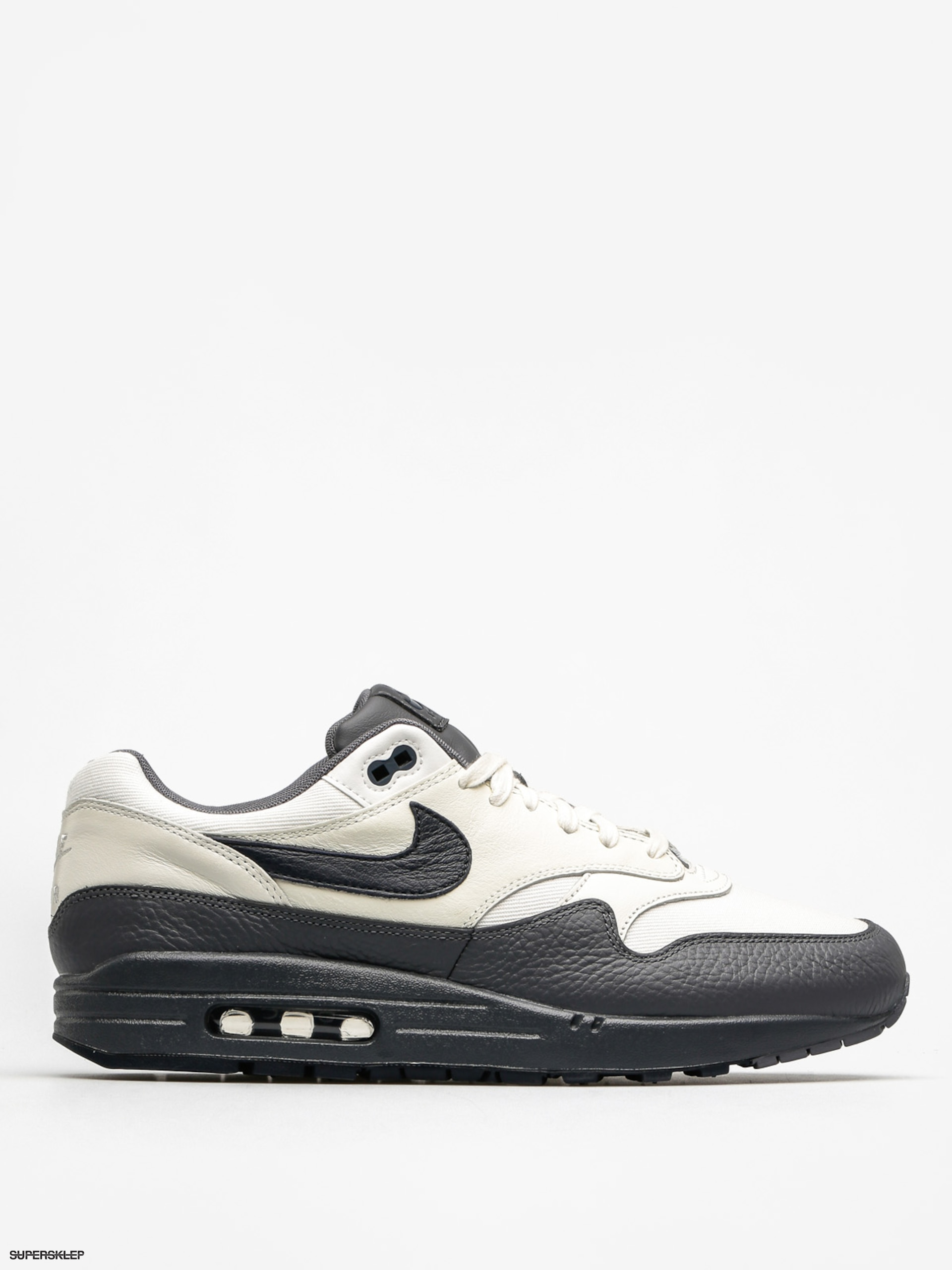 Buty Nike Air Max 1 (Premium sail/dark obsidian dark grey)