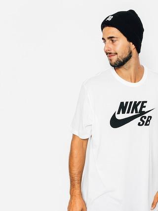 T-shirt Nike SB Logo (white)