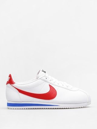 Buty Nike Classic Cortez Leather Wmn (white/varsity red)